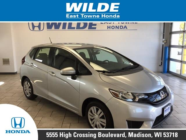 Pre-Owned 2016 Honda Fit LX 4D Hatchback