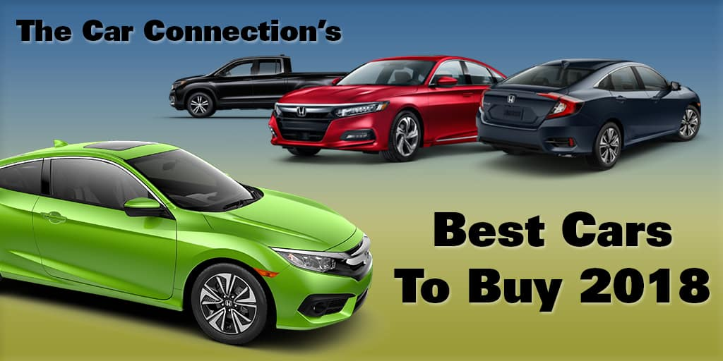 Honda Named In The Car Connections Best Of 2018