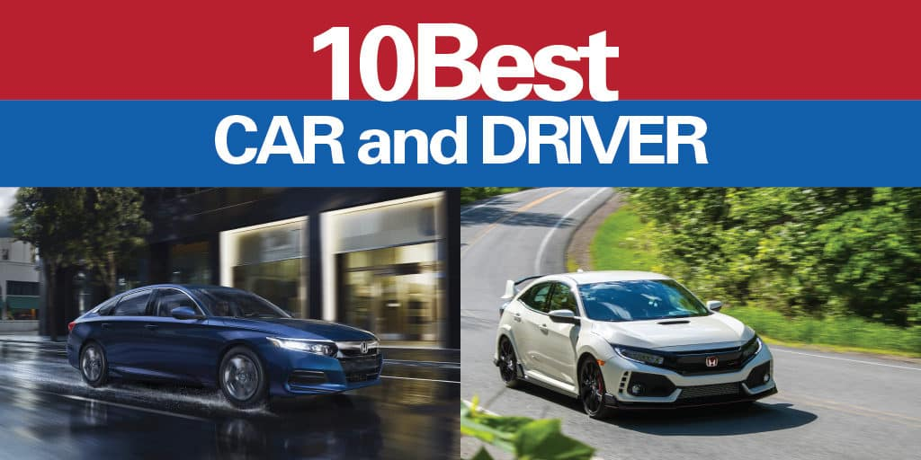 10Best Accord and Civic