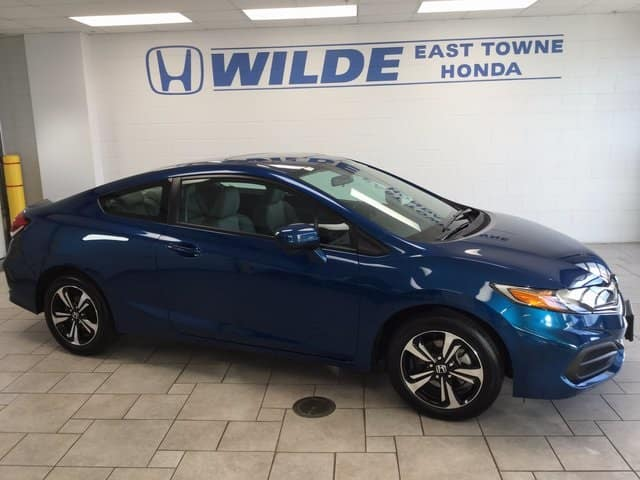 Certified Pre-Owned 2015 Honda Civic EX
