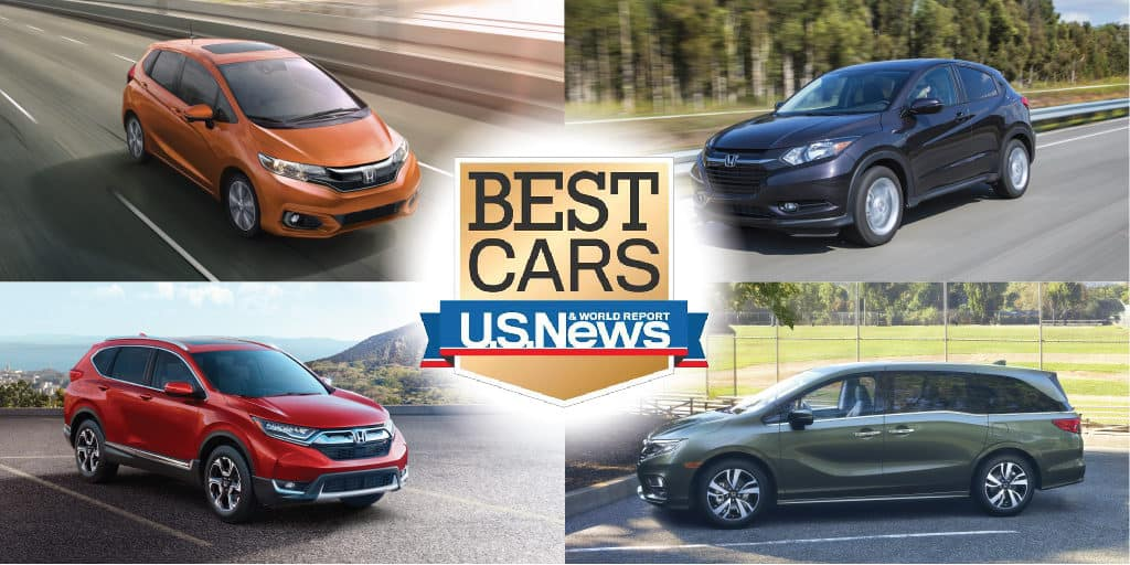 U.S. News & World Report Recognizes Honda Models as \