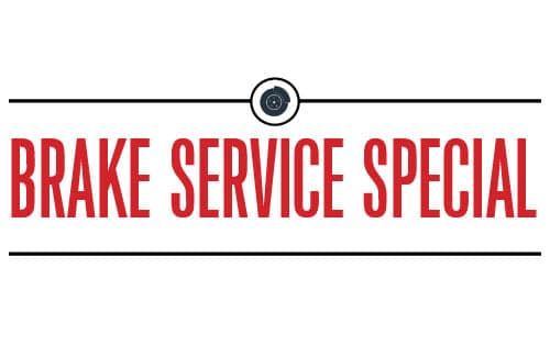 Featured service special brake service special wilde for Honda brake service coupons