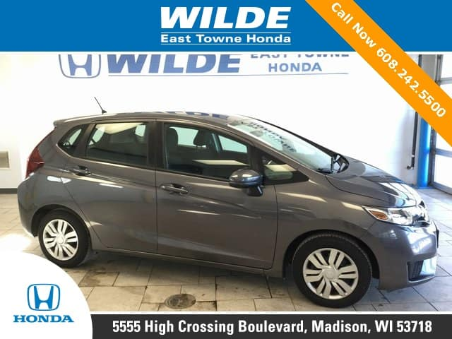 Featured used car of the week certified pre owned 2015 for Certified used honda fit
