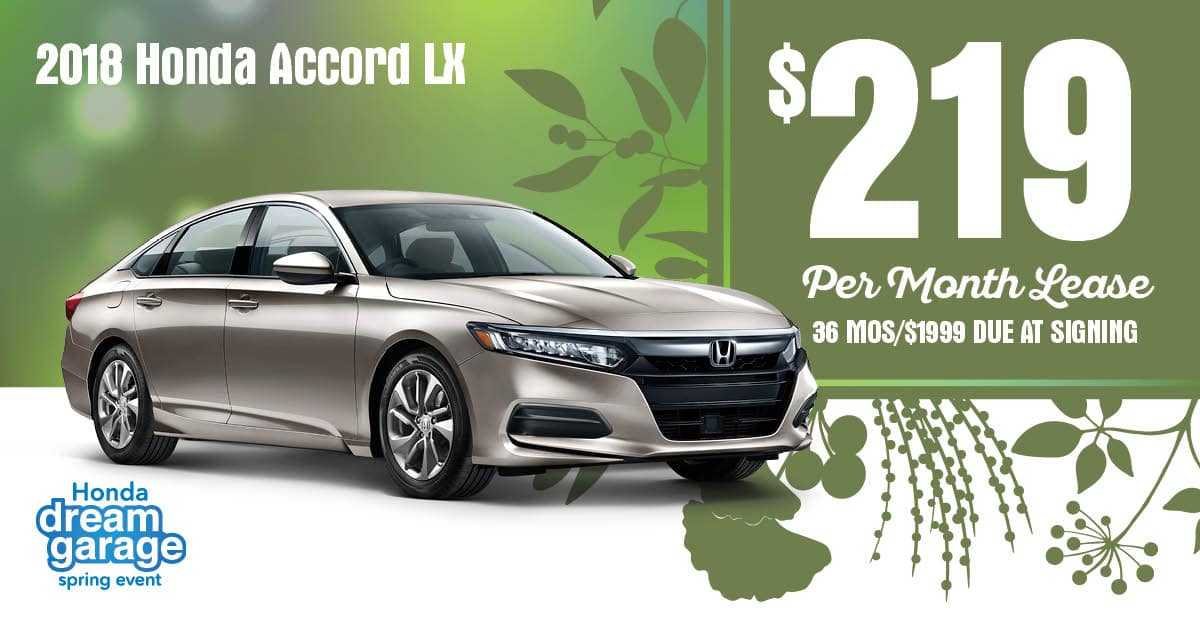 New Honda Special Offers Madisons Best Deals At Wilde East - Accord lease