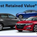 Edmunds Honda Retained Value 2018