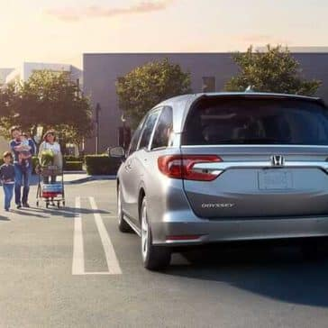2019 Honda Odyssey With Family