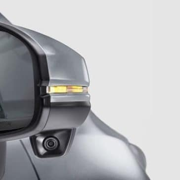 2019 Honda Fit rear view mirror