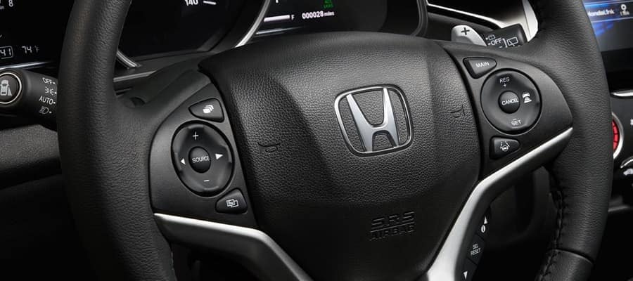 2019 Honda Fit steering wheel detail