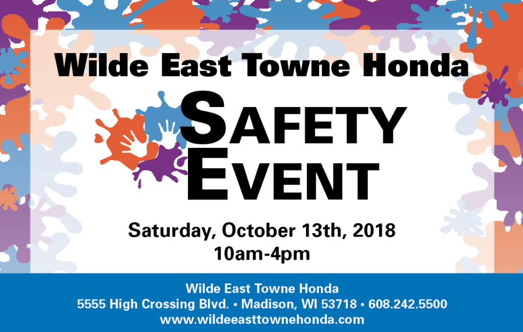 Wilde East Towne Honda Safety Event October 13 2018