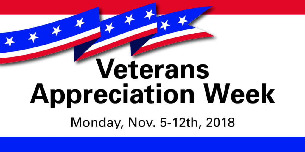 Veterans Appreciation Week 2018