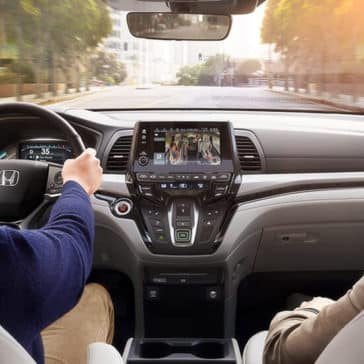2018 Honda Odyssey Interior Technology Features