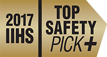 The 2017 Honda Ridgeline was the 2017 IIHS Top Safety Pick Plus