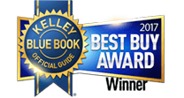 The 2017 Honda Pilot was the Winner of the Kelley Blue Book 2017 Best Buy Award