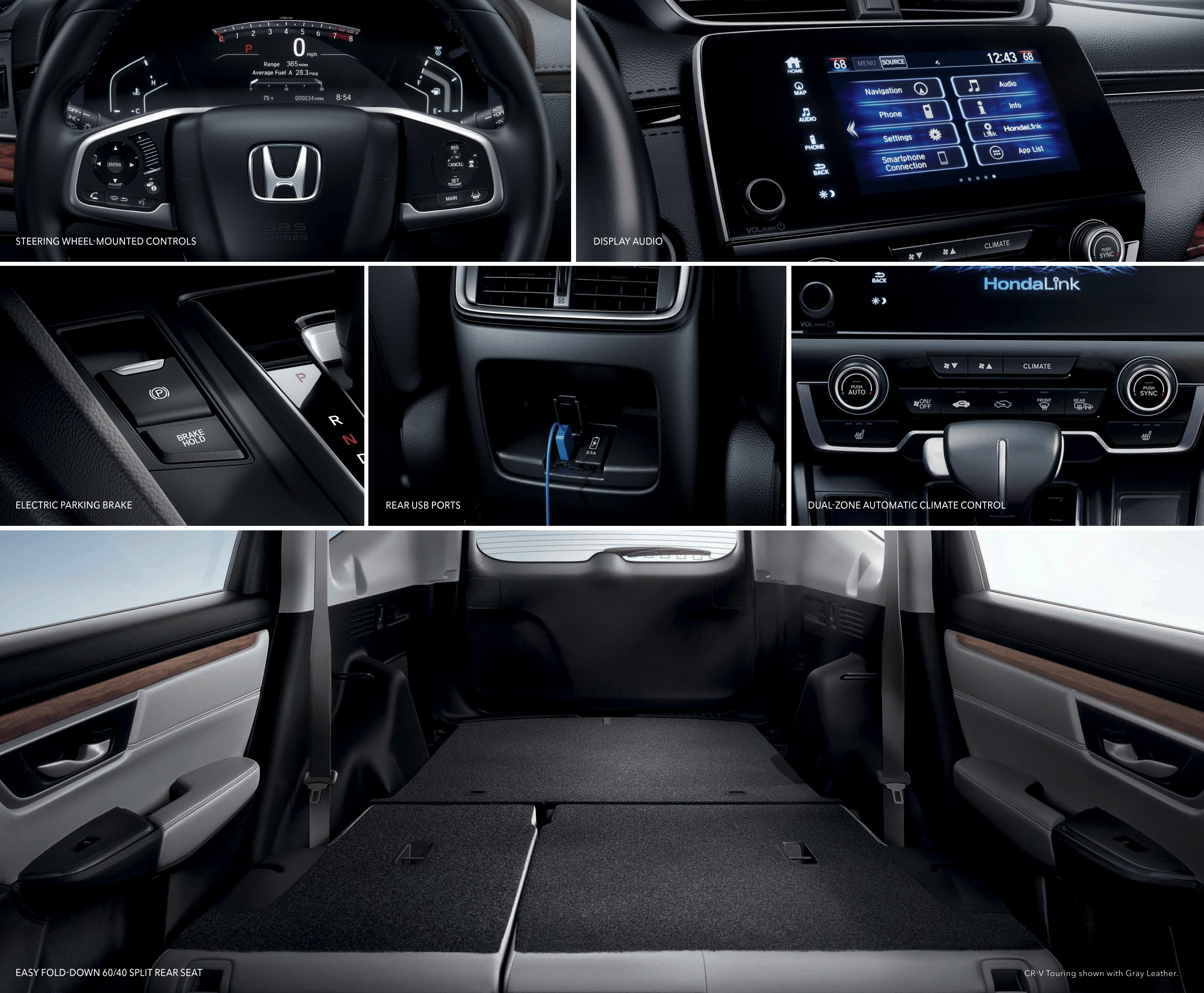 Honda Cr V Research Model Overview Wilde Sarasota 2003 Oil Pressure Sensor Grid View Of Many Interior Features The 2017