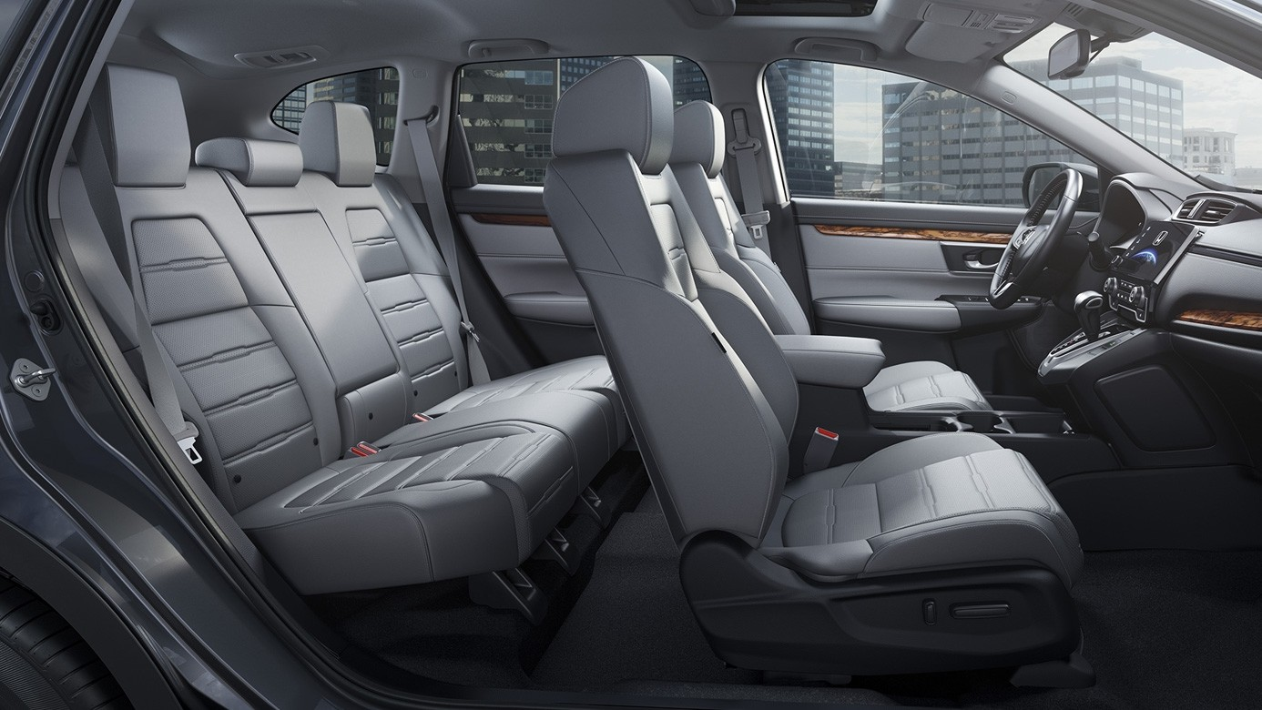 2017 Honda CR-V Side View Showing all of the Seats