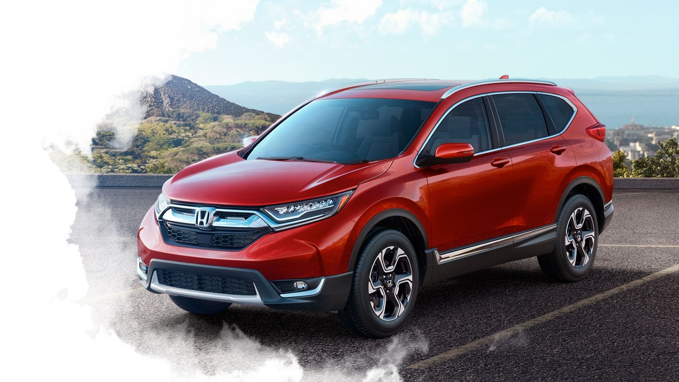 2017 CR-V in Parking Lot
