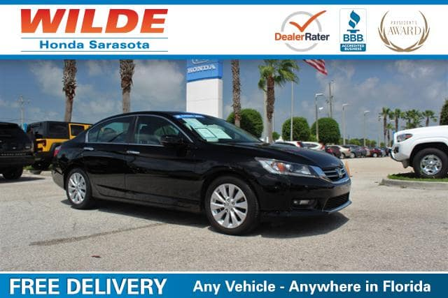 Used car of the week certified pre owned 2014 honda for Wilde honda sarasota fl