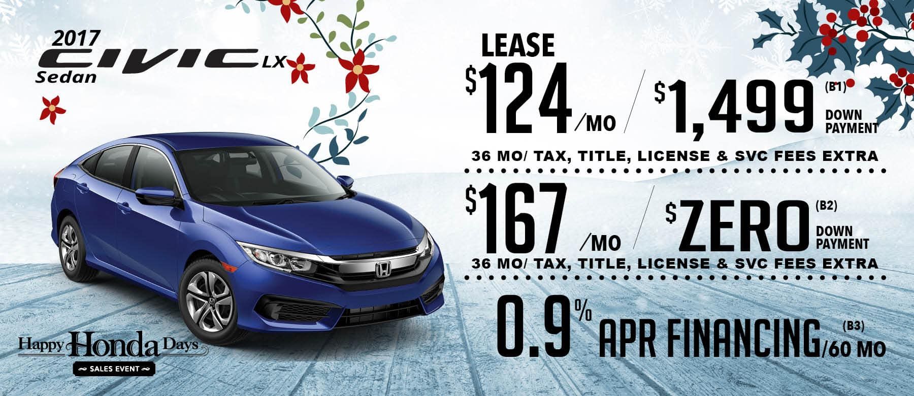 New Honda Special Offers - Sarasota's Best Deals at Wilde Honda Sarasota