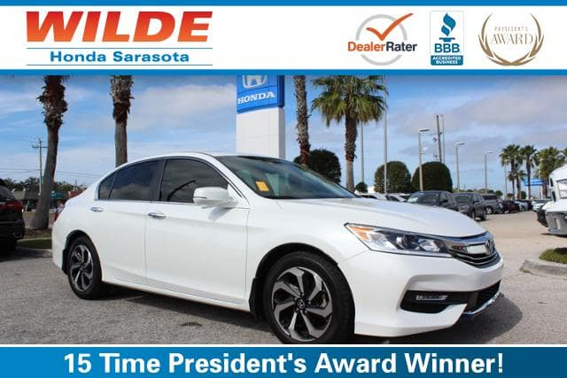 Certified Pre-Owned 2017 Honda Accord EX-L CVT