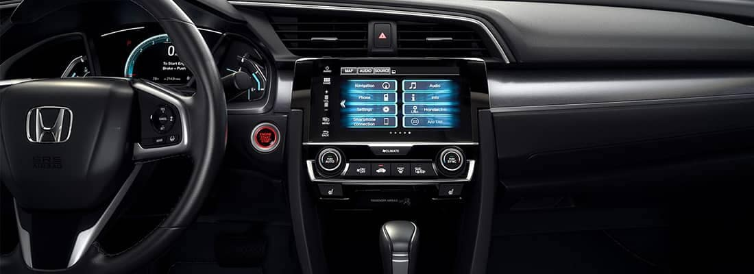 2018 Honda Civic Dash