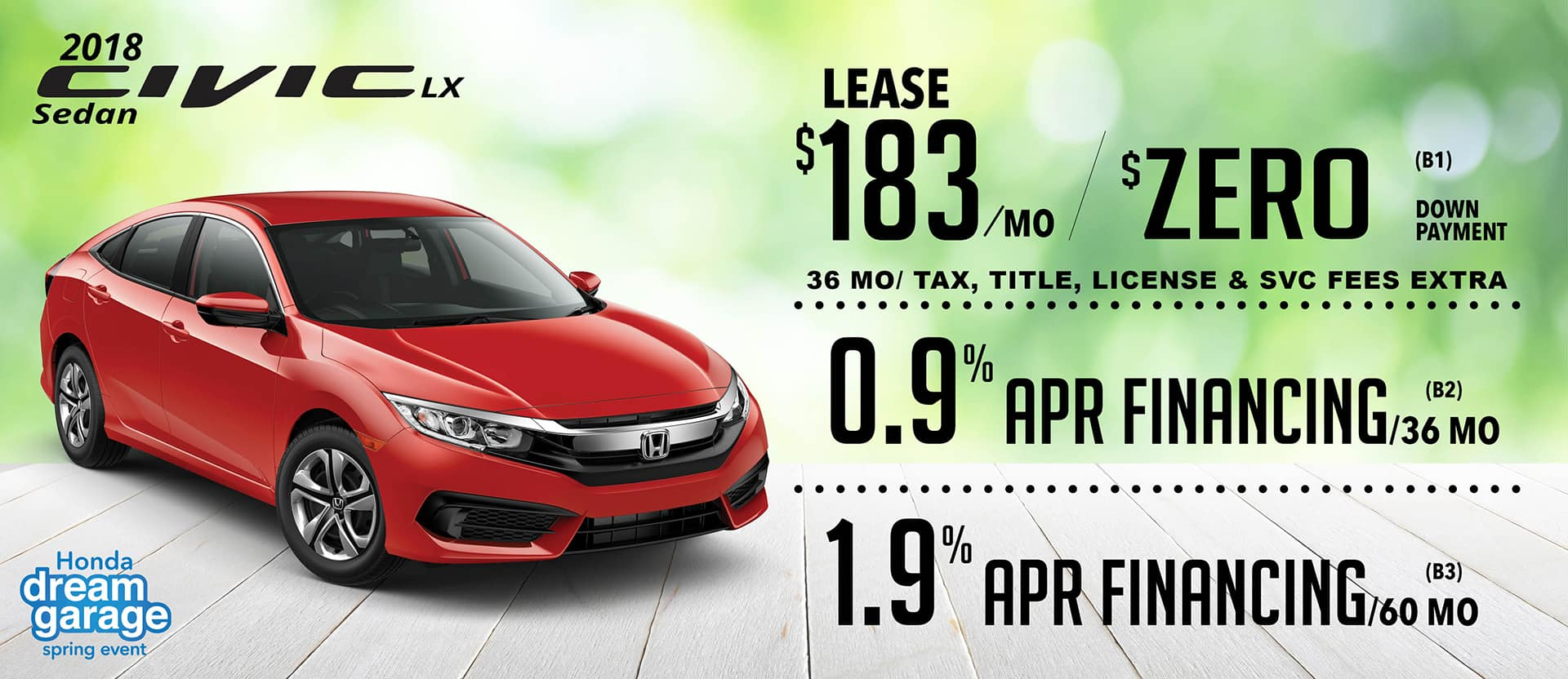 New honda special offers sarasota 39 s best deals at wilde for Honda civic specials