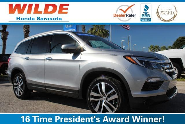 Certified Pre-Owned 2017 Honda Pilot Elite