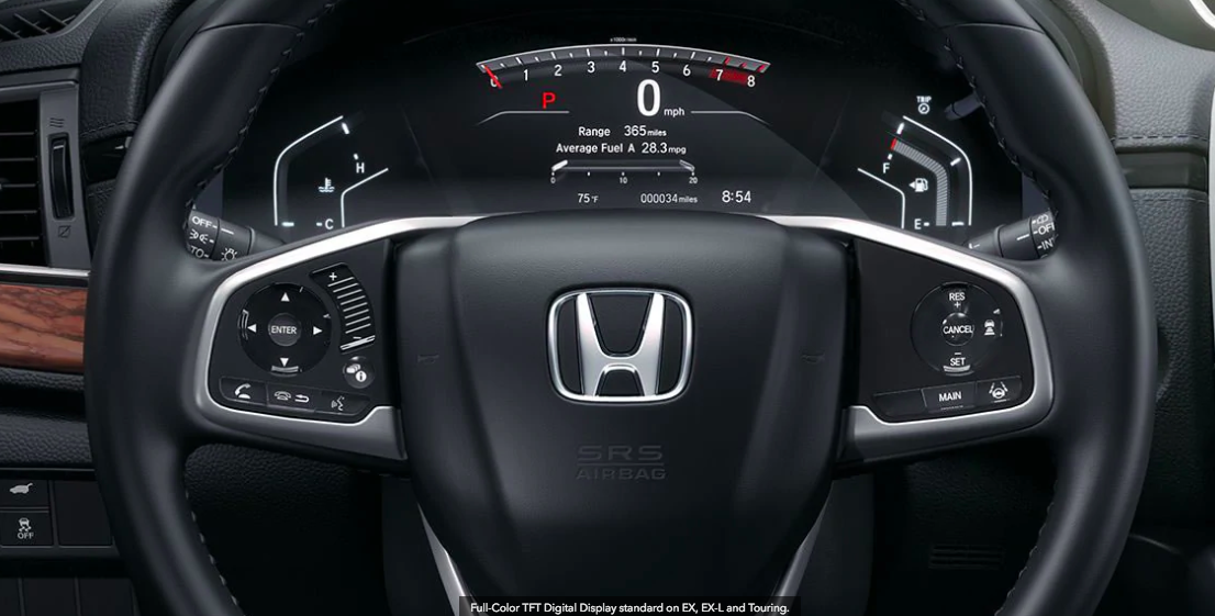 How to Use and Set the Cruise Control in the 2018 Honda CR-V