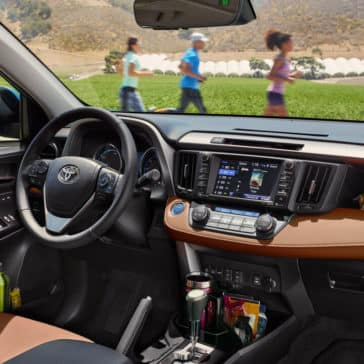 2018 Toyota RAV4 Dash