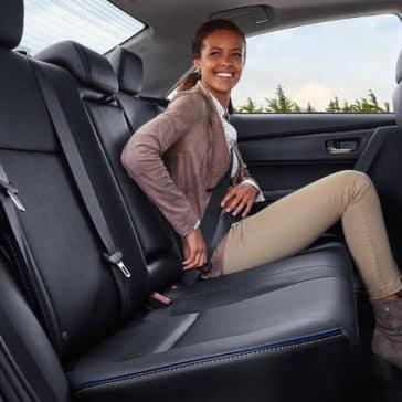 2018 Toyota Corolla Back Seat