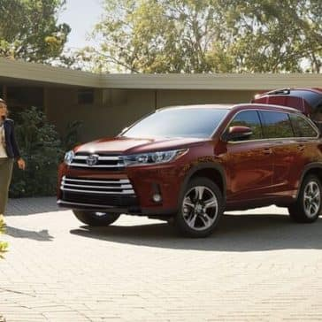 2018 Toyota Highlander Red