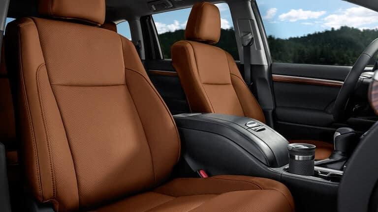 2018 Toyota Highlander Seats
