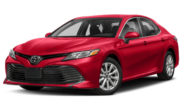 2018 Toyota Camry Red