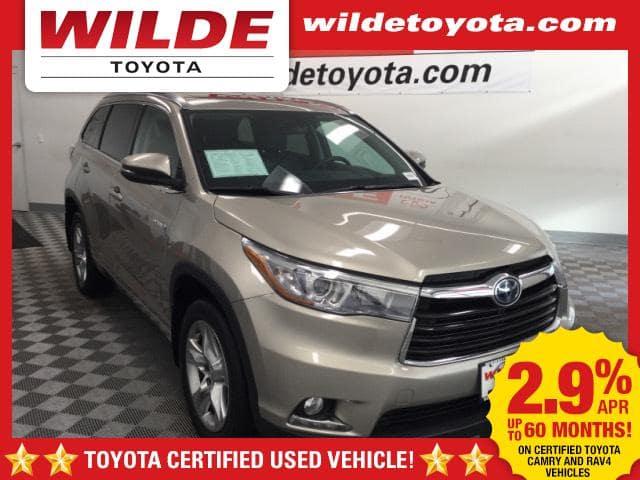 Certified Pre-Owned 2015 Toyota Highlander Hybrid LTD