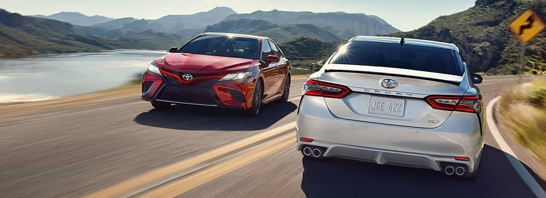 2018 Toyota Camry's Passing