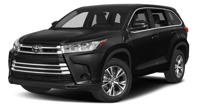 2018 Toyota Highlander Black