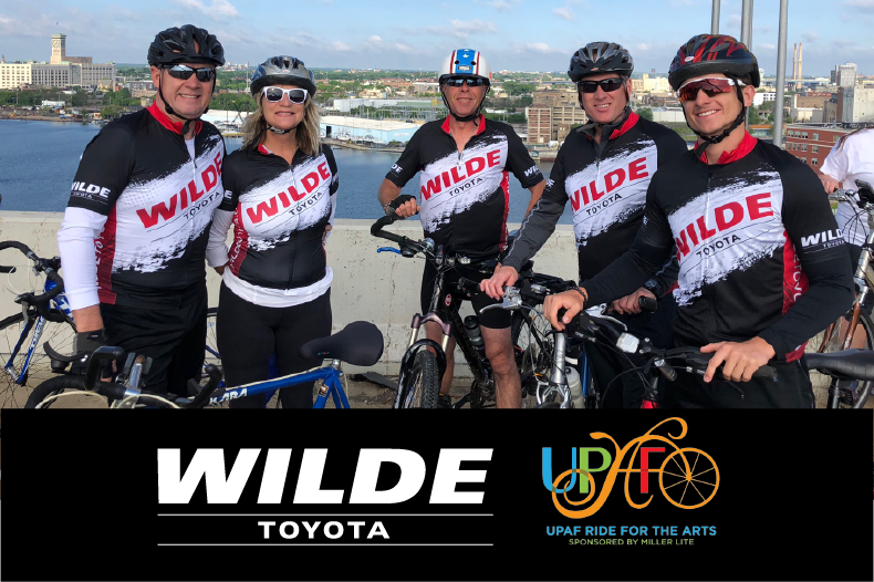 Wilde Toyota Participates in the UPAF Ride for the Arts