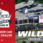 Wilde Toyota Named a 2018 Top Choice Winner for New Car Shopping