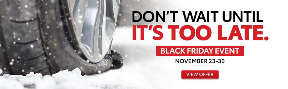 Black Friday Toyota Tires
