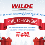Help Wilde Toyota Make the Holidays Special