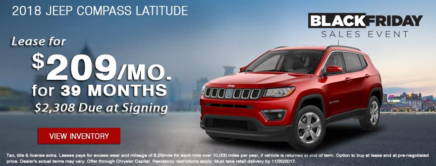 2018 Jeep Compass Latitude of York CDJR