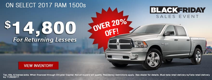 Over 20% Off On Select RAM 1500s of York CDJR