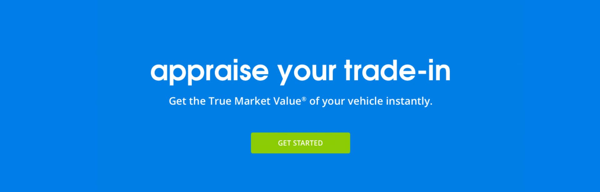 Instant Vehicle Trade-in Value serving Crawfordsville and Indianapolis, Indiana.