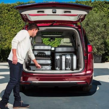2018 Chrysler Pacifica Trunk