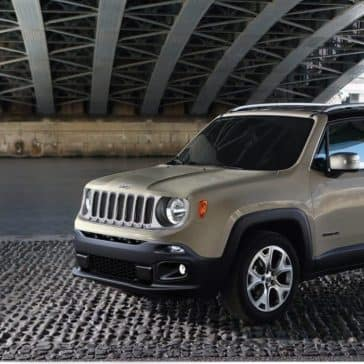 2018 Jeep Renegade Parked