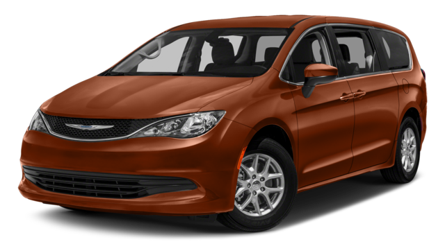2018 Chrysler Pacifica Orange