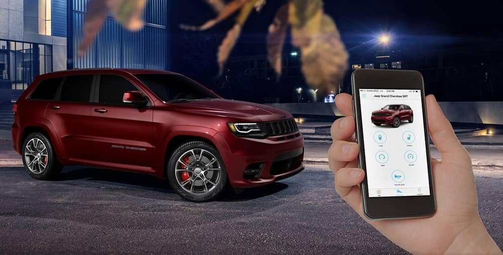 2018 Jeep Grand Cherokee Smartphone