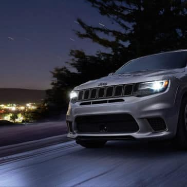 2018 Jeep Grand Cherokee At Night