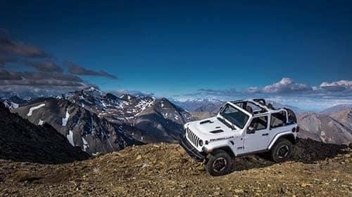 2018 Jeep Rubicon Off-Roading Through the Mountains