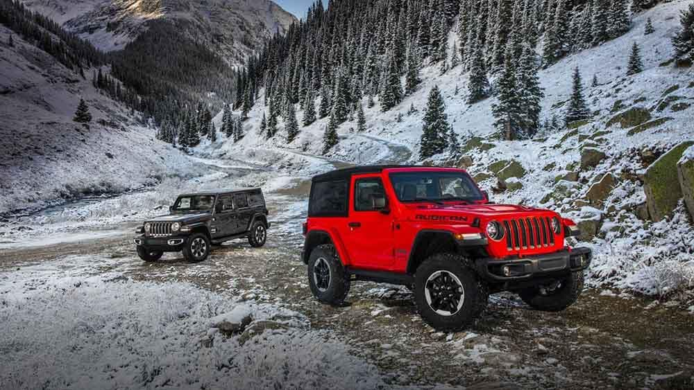 2018 Jeep Wrangler Pair