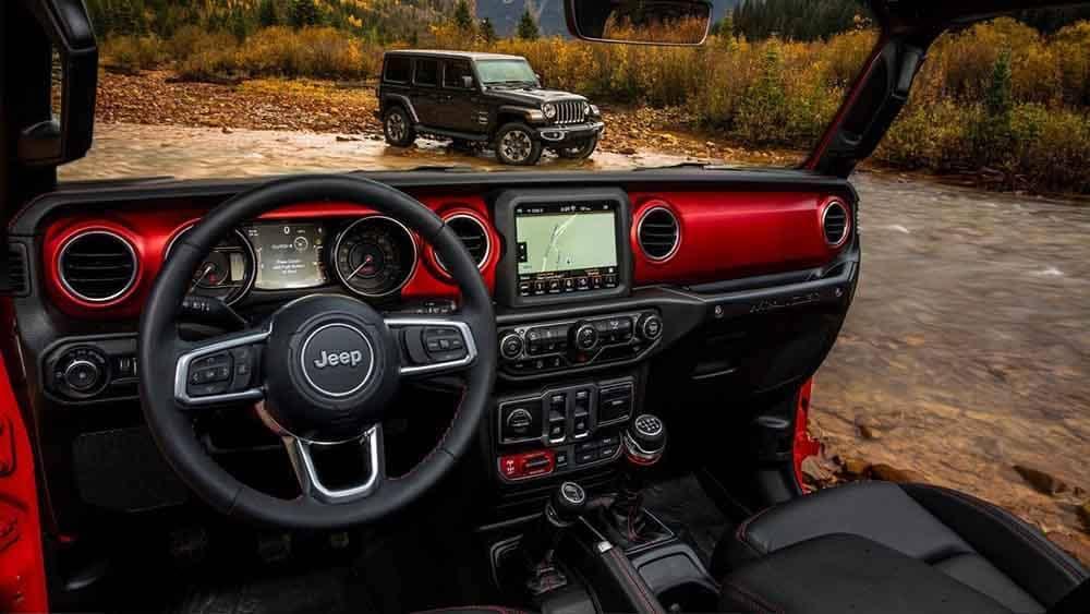 2018 Jeep Wrangler Dash